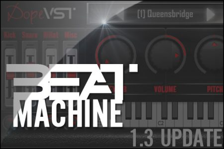 Beat Machine - Boombap VST - Classic Hip Hop Drum Machine