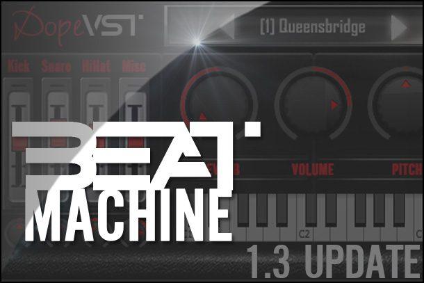 Beat Machine - Boombap VST - Classic Hip Hop Drum Machine