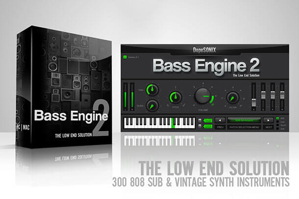 A BAss for Hip Hop Reggae and Future Bass Producers