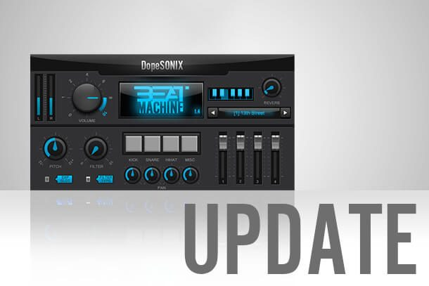 Beat Machine 1 update GUI